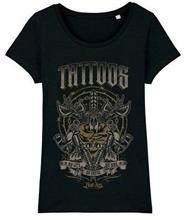 BadAss Bastards - Tattoo, Girl-Shirt